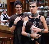 kendall jenner cara delevingne CHANEL FALL 2015 FASHIONDAILYMAG B