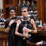 kendall jenner cara delevingne CHANEL FALL 2015 FASHIONDAILYMAG
