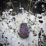 Druzy Solitaire Necklace HEATHER LJOENES FashionDailyMag sel 22