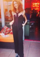 BRIGITTE SEGURA amiclubwear jumpsuit fashiondailymag