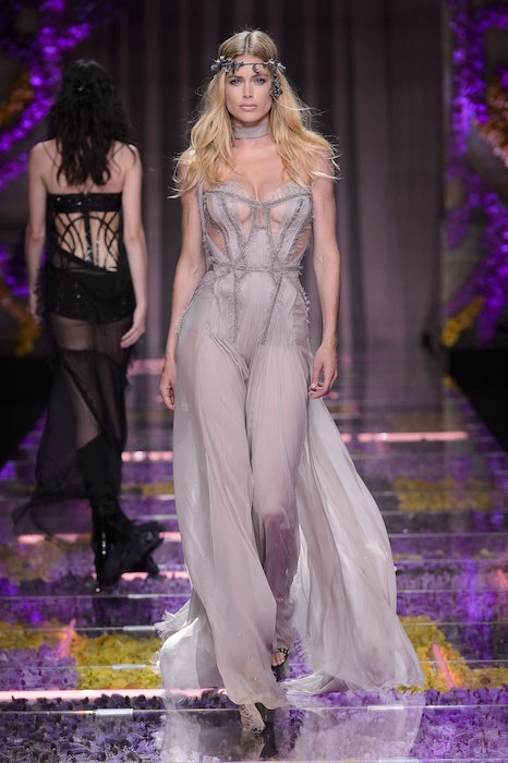 VERSACE COUTURE fall 2015 FashionDailyMag sel 1