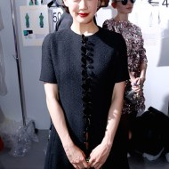 Yu Aoi Christian Dior : Backstage - PFW FashionDailyMag