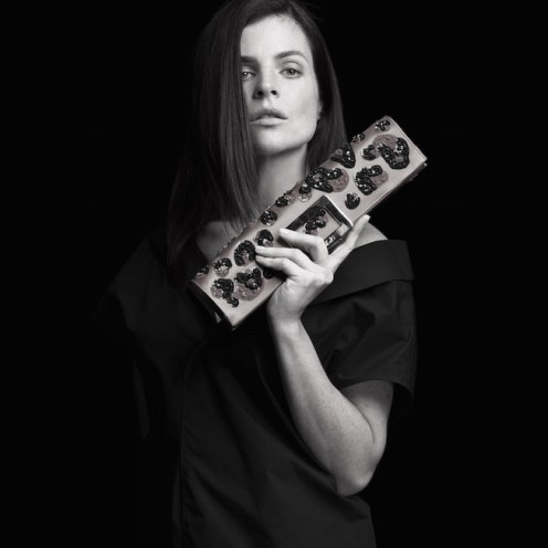 julia restoin roitfeld ROGER VIVIER michael Avedon FashionDailyMag