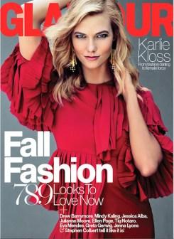 KARLIE KLOSS glamour Tom Munro FashionDailyMag