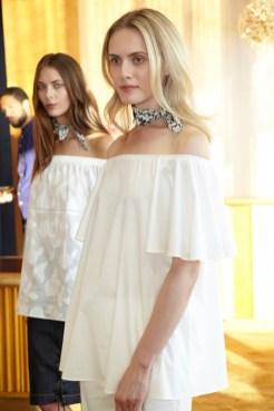 BLUE LES COPAINS ss16 NYFW FashionDailyMag audrey 8