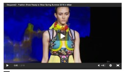 DSQUARED2 FASHION SHOW VIDEO fashiondailymag