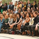 burberry s16 front row celebs FashionDailyMag 1