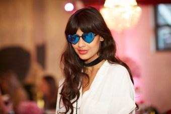 Georgia May Jagger Sunglass Hut Shaun James Cox / British Fashion Council