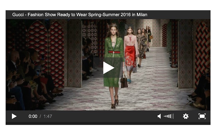 gucci ss16 video FashionDailyMag 3