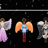 FESTIVE angels love fashion