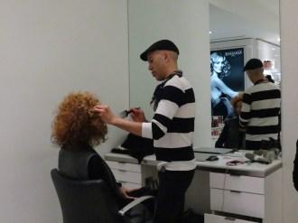 brigitte segura by vital agibalow Salon Ziba x FashionDailyMag 7