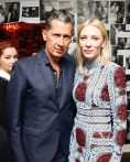 Cate Blanchett with Stefano Tonchi
