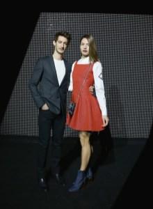 Pierre Niney and Natasha Andrews