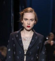 dior HC ss16 details FashionDailyMag 3 red lipstick