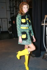 karlie kloss MELISSA SHOES FOR JEREMY SCOTT: ACCESSORIES DETAILS