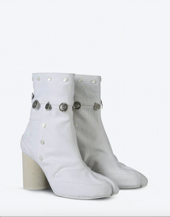 maison margiela summer white tabi boot summer whites FashionDailyMag