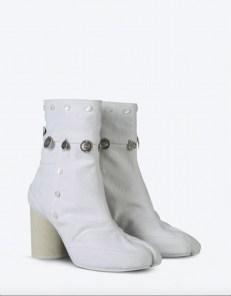 maison margiela summer white tabi boot summer whites FashionDailyMag