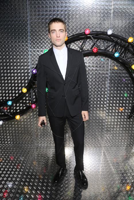 ROBERT PATTINSON Paris Fashion Week - Menswear Spring/Summer 2017