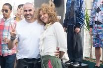 brigitte segura with RICARDO SECO SS17 PRESENTATION ANGUS SMYTHE FASHION DAILY MAG