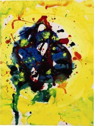 Sam Francis, Untitled, 1977 (est. £25,000-35,000)