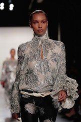 silver top prabal gurung fw17 randy brooke fashiondailymag 9