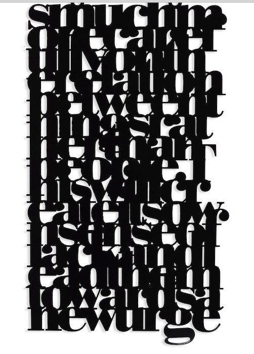 Liam Gillick- Brazil Kalmar Text, 2006 FASHIONDAILYMAG