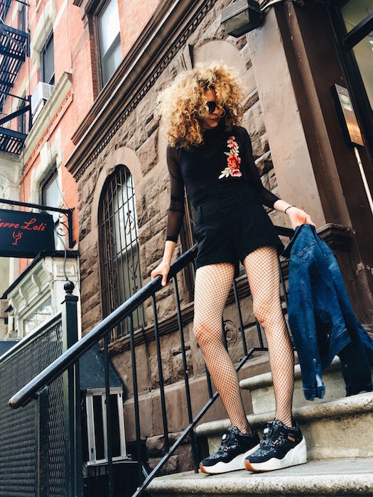 FLOWERED in the city brigitte segura 3 editorial Bulent Doruk FashionDailyMag 75