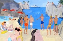 SUMMER vibes + artsy POSTCARDS