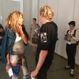 VALENTINE UHOVSKI with Brigitte NEW YORK MENS DAY NYFWM BRIGITTE SEGURA Fashiondailymag _5706