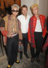 (L to R) Mino, Christopher Bailey and Lee Seung-hoon wearing Burberry at the Burberry