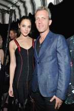 LOS ANGELES, CA - JANUARY 04: Gal Gadot (L) and Yaron Versano attend W Magazine's Celebration of its 'Best Performances' Portfolio and the Golden Globes with Audi, Dior, and Dom Perignon at Chateau Marmont on January 4, 2018 in Los Angeles, California. (Photo by Donato Sardella/Getty Images for W Magazine)