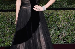GOLDEN GLOBES in black couture