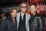 LOS ANGELES, CA - JANUARY 04: Peter Dundas (C) and guests attend W Magazine's Celebration of its 'Best Performances' Portfolio and the Golden Globes with Audi, Dior, and Dom Perignon at Chateau Marmont on January 4, 2018 in Los Angeles, California. (Photo by Donato Sardella/Getty Images for W Magazine)