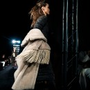 MAXMARA fringe on menswear MFW
