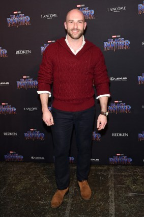 NEW YORK, NY - FEBRUARY 12: Josh Bennett attends the Marvel Studios Black Panther Welcome to Wakanda New York Fashion Week Showcase at Industria Studios on February 12, 2018 in New York City. (Photo by Jamie McCarthy/Getty Images for Marvel)