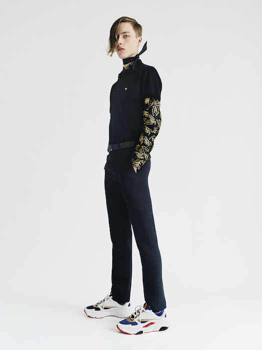 DIOR HOMME GOLD BY PAOLO ROVERSI FASHIONDAILYMAG 3