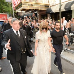 NEW YORK, NY - MAY 07: Anna Wintour attends as The Mark Hotel celebrates the 2018 Met Gala at The Mark Hotel on May 7, 2018 in New York City. (Photo by Andrew Toth/Getty Images for The Mark Hotel)