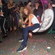 brigitte segura in il fiorentino during ALBER ELBAZ X SPORTSAC NYFW fashiondailymag