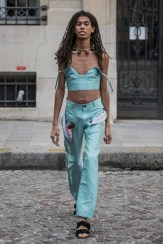 LOOK13 NEITH NYER PARIS FASHION WEEK SS19 Fashiondailymag bleumode
