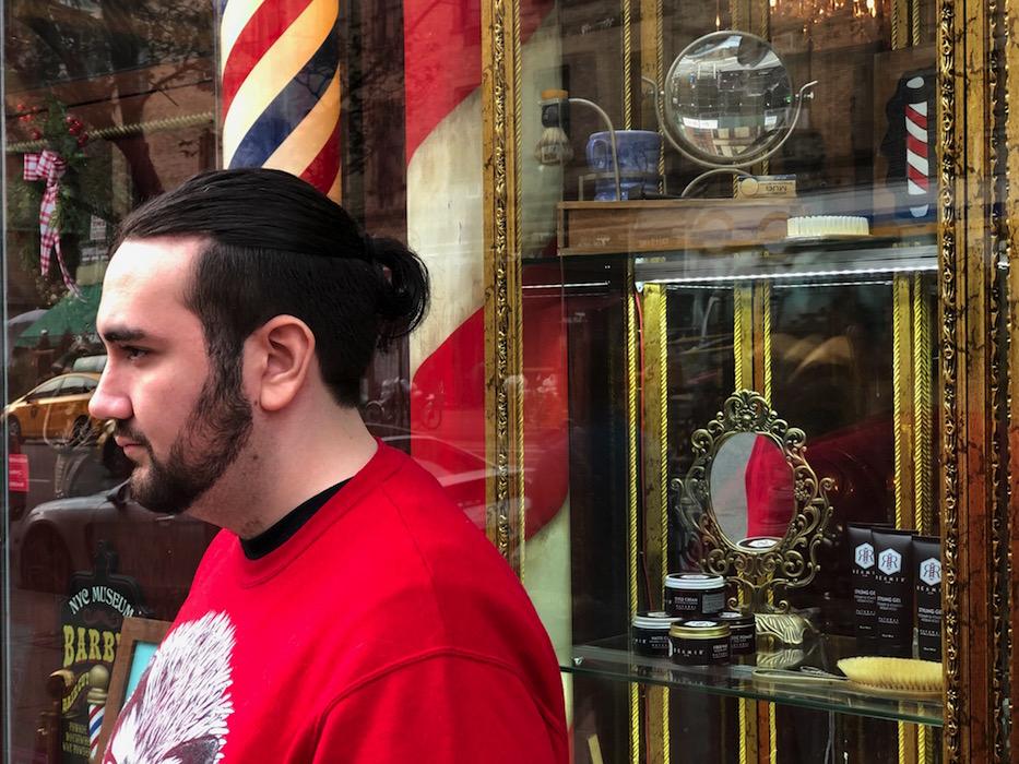 JULIEN SEGURA NYC BARBERSHOP MUSEUM PH BRIGITTE SEGURA fashiondailymag 2018