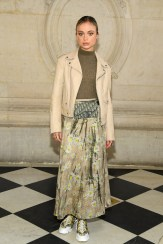ceaba578ed PARIS, FRANCE - JANUARY 21: Amelia Windsor attends the Christian Dior Haute  Couture Spring