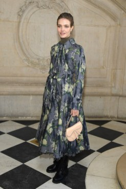 PARIS, FRANCE - JANUARY 21: Natalia Vodianova attends the Christian Dior Haute Couture Spring Summer 2019 show as part of Paris Fashion Week on January 21, 2019 in Paris, France. (Photo by Pascal Le Segretain/Getty Images)