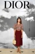 DIOR COUTURE fall 2019 people FashionDailyMag brigitte segura curator 2