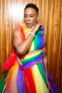 Billy Porter gets ready for WorldPride NYC 2019 on June 30, 2019 in New York City. (Photo by Santiago Felipe/Getty Images) fashiondailymag 4
