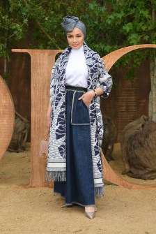 PARIS, FRANCE - SEPTEMBER 24: Neelofa Mohd Noor attends the Christian Dior Womenswear Spring/Summer 2020 show as part of Paris Fashion Week on September 24, 2019 in Paris, France. (Photo by Pascal Le Segretain/Getty Images)