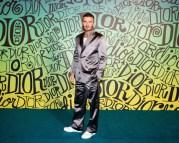 david beckham DIOR MEN FALL 2020: RUNWAY SHOW fashiondailymag