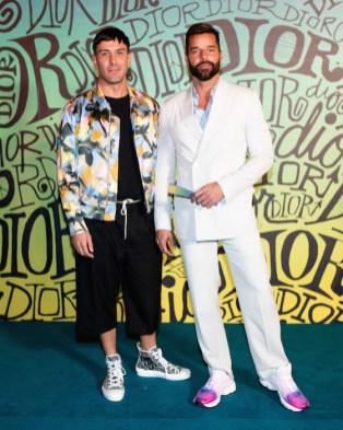 Jwan Yosef, Ricky Martin DIOR MEN FALL 2020: RUNWAY SHOW fashiondailymag