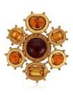 LOT 56_CHANEL GRIPOIX GLASS AND RHINESTONE PENDANT BROOCHJEWEL HAPPY FASHIONDAILYMAG brigitteseguracurator