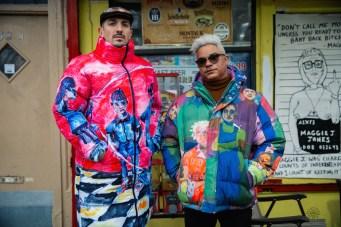 multicolor puffer KIDSUPER FALL 2021 curated brigitteseguracurator Fashion Daily Mag forward fashion