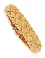 DAVID WEBB GOLD BRACELET VALENTINES DAY JEWELS brigitteseguracurator Fashion Daily Mag